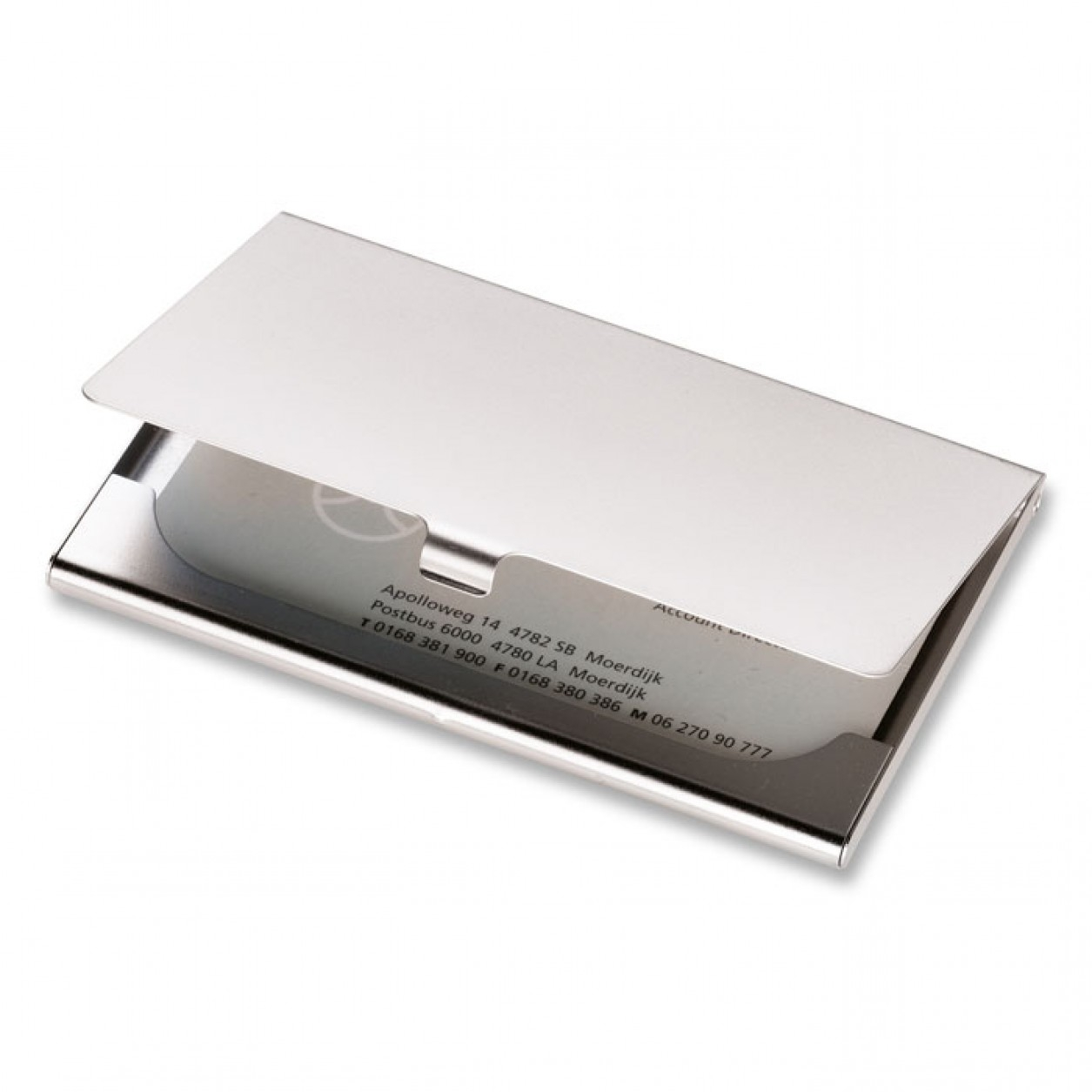 Printed Business Card Holders | Promotional Card Holders | UK