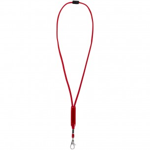 Abbott lanyard with adjustable patch
