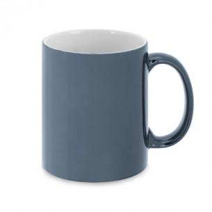 Metallic finish mug