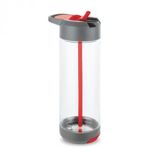 Sports bottle with phone stand