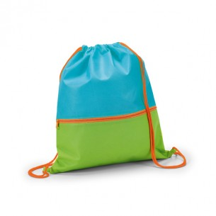 Kids drawstring bag with pocket
