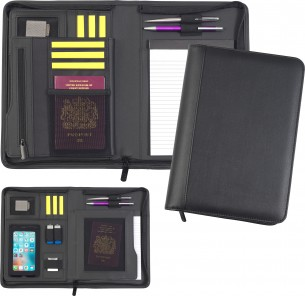 Bowness Oversize A5 Zip Tabletfolio