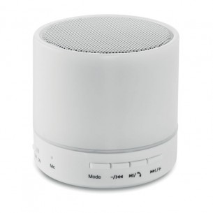 Round Bluetooth Speaker LED