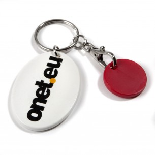 Trolley Mate Keyring Oval
