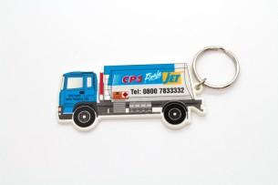 Lorry Shaped Keyring
