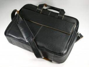 Kensington Leather Laptop Bag