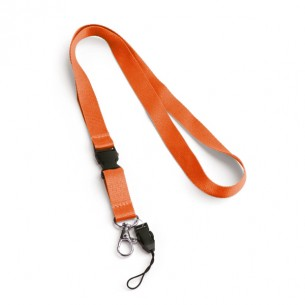 15mm lanyard with safety lock