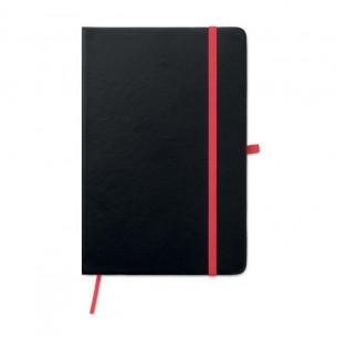 Laser PU cover notebook