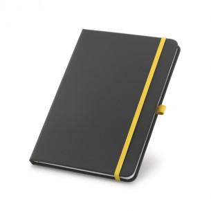 80 sheet black notepad