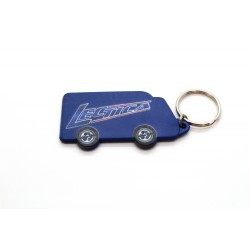Van Shaped Keyring