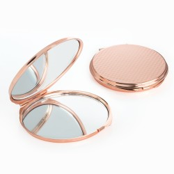Rose Gold Mirror Style