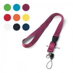 20mm Entry lanyard with safety lock