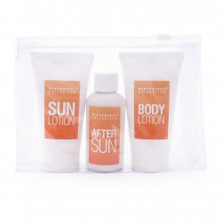 3pc Sun Care Kit in a PVC Pouch