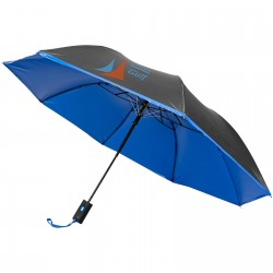 "21"" Gerald 2-section automatic umbrella"