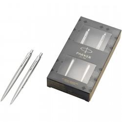 Dennis Steel Jotter Duo Pen Gift Set