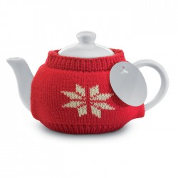Tea pot with jersey cover