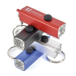 Cuboid Torch LED Keyring