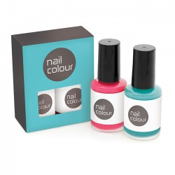 2pc Nail Polish Set in Printed Box