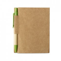 Memo Note With Mini Recycled Pen