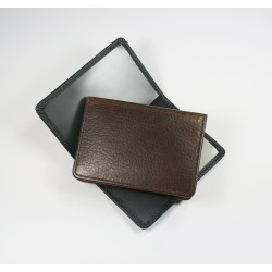 Kensington Leather Oyster Card Holder