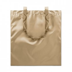 Shopping bag shiny coating