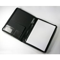 Marylebone Leather A4 Zipped Folder