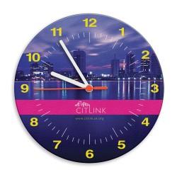 Round Brite-Clock Wall Clock