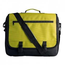 Zipped Messenger Bag With Shoulder Strap