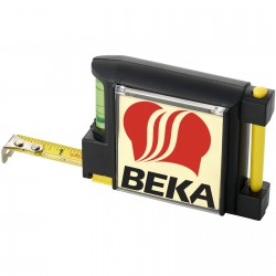 Buxted 2M measuring tape with level