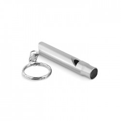 Aluminium Whistle Key Ring