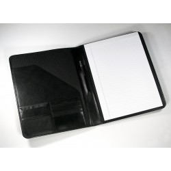 Eco Executive Leather A4 Non Zipped Folder