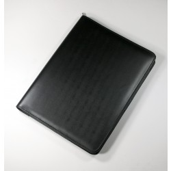 Knightsbridge Executive Leather A4 Zipped Folder
