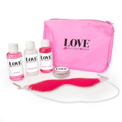 6pc Pink Pamper Kit in a Pink Bag