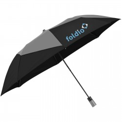 "23"" Carrie 2-section auto open vented umbrella"