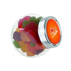 Small Glass Sweet Jar (60g-250g)