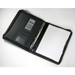 Marylebone Leather A4 Zipped Folder (Ring Binder)