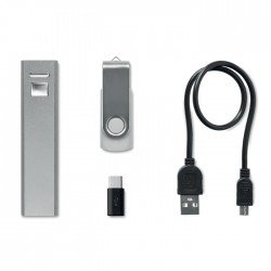 Set 8Gb Memory With Power Bank