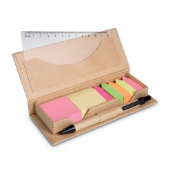 Desk Set In Brown Paper Box