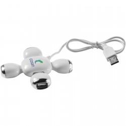 Fitzgerald 4-port flexible USB hub