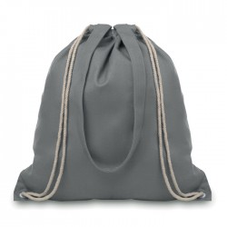 Drawstring And Handles Bag