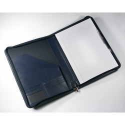 Eco Executive Leather A4 Zipped Folder