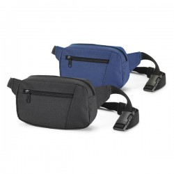 Waist pouch with pocket