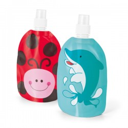 Folding bottle BPA free