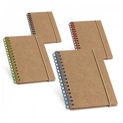 Globe recycled notepad