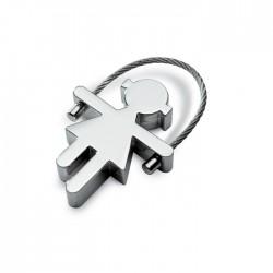Rosie Metal Key Ring