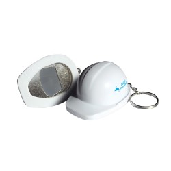 Hard Hat Bottle Opener Keyring