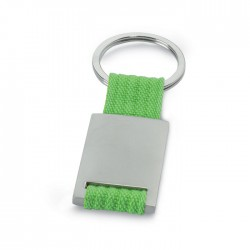 Manresa Metal Rectangular Key Ring