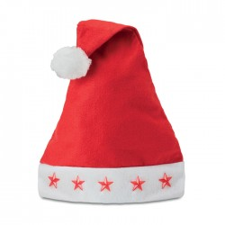 Christmas hat with star lights