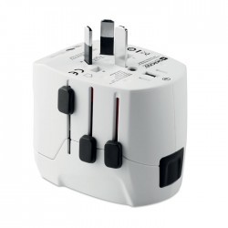 Pro Light USB. 3-Pole Travel Adaptor