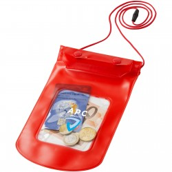 Evan storage pouch with lanyard